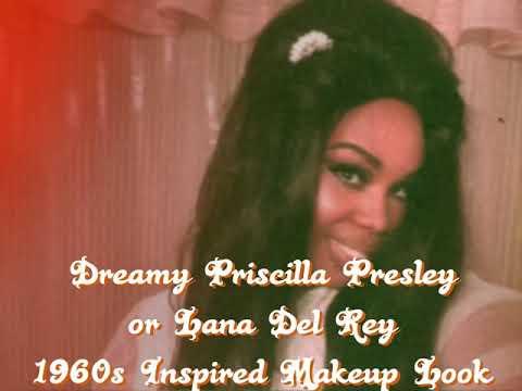 1960s Priscilla Presley /Lana Del Rey Makeup Tutorial