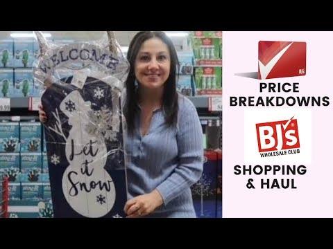 BJ's Wholesale Club Price Breakdowns | Deal Shopping