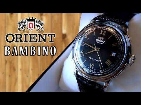 Orient Bambino Black Version 2 Watch Review - Automatic Generation 1