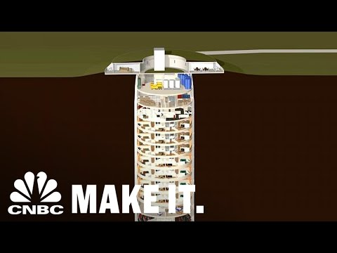 Survival Silos For The Super Rich Cost $3M Per Floor | CNBC Make It.