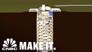 Survival Silos For The Super Rich Cost $3M Per Floor | CNBC Make It.