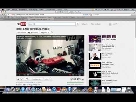 YouTube-Videos als MP3 runterladen Mac / Windows