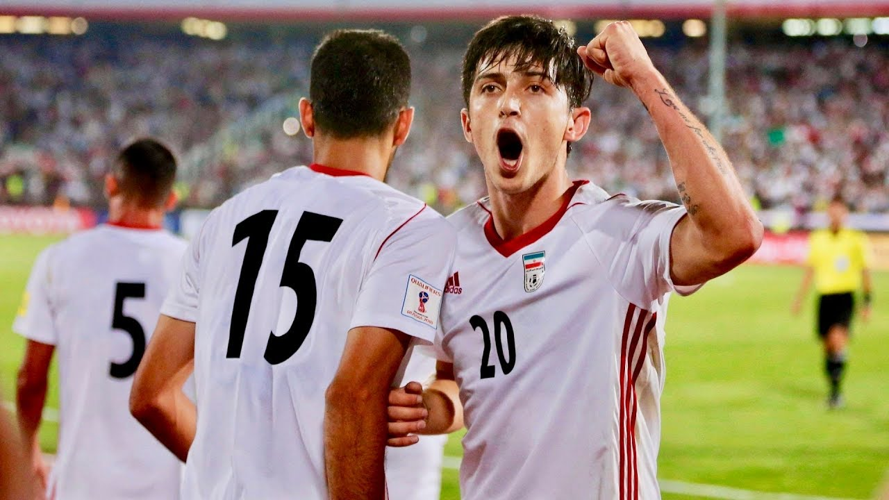 online store bf909 482f9 Iran's National Football Team at the 2018 World Cup, Sardar Azmoun