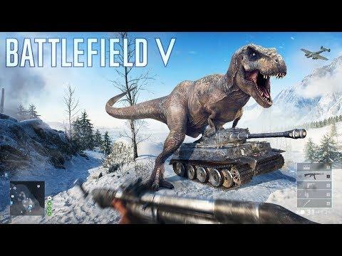 Членозавр в Battlefield 5 - MLG...