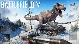 Членозавр в Battlefield 5 - MLG gameplay (4K)