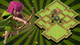 Clash Of Clans - TH7 (TOWN HALL 7) WAR BASE - SPEED BUILD