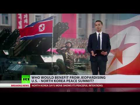 Who would benefit from jeopardising US - North Korea peace talks?