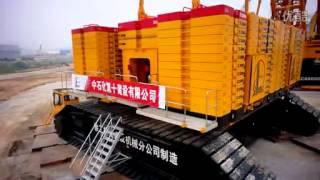 徐工集团4000吨级履带式起重机 XCMG Group 4000-ton-level crawler crane, China