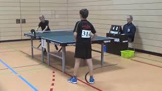 Roth 314 vs Pentzer  20181208 Bayer Jugendm Ansbach Table Tennis Zoom 9