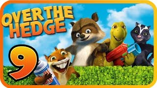 Over The Hedge Walkthrough Part 9 (PS2, GCN, XBOX, PC) Mission 14 & 15  [100% Objectives]