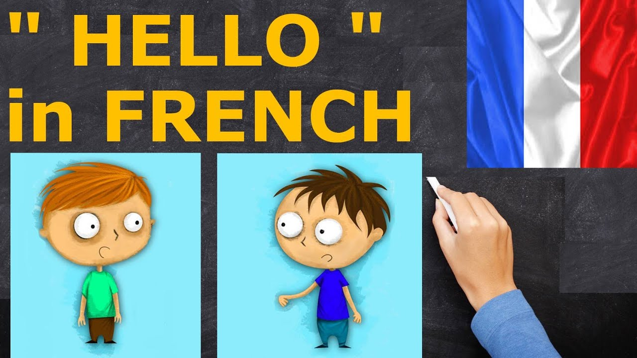 Learn french hello in french youtube kristyandbryce Gallery