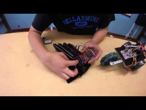 Matthew W - Gesture-Controlled Robot Final Video (Main Project)