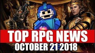 Top RPG News of the Week - Oct 21 2018 (RDR2, Monster Hunter World, Thronebreaker)