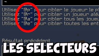 APPRENDRE LES COMMAND BLOCKS #3 - Les sélecteurs (Partie 1)