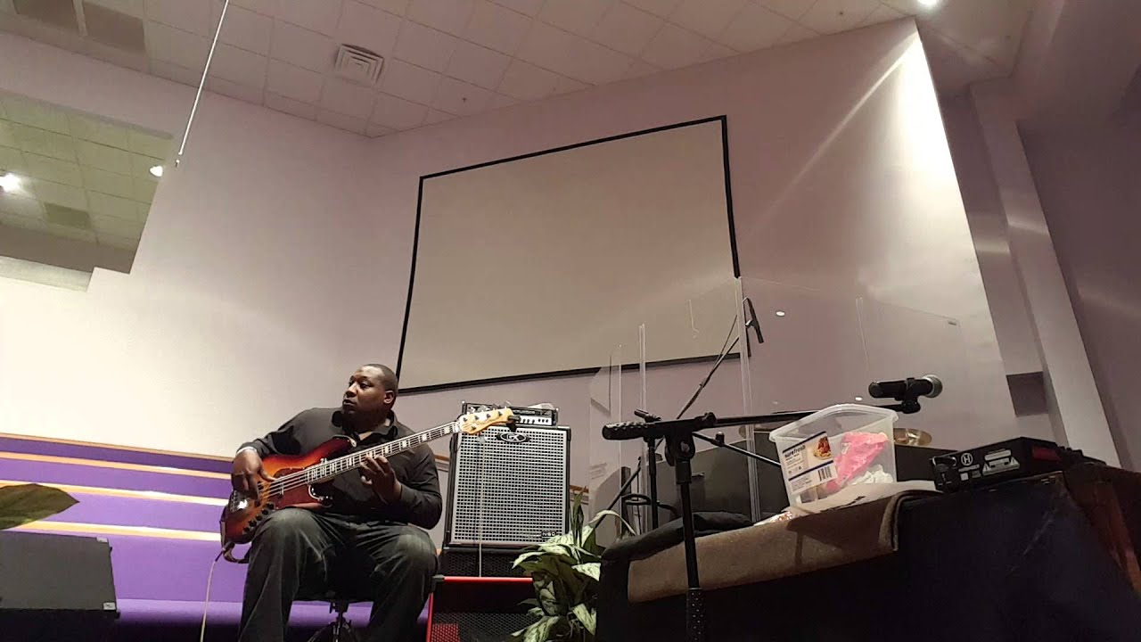 Sire marcus miller v7 and Boom Bass Cabinet tank 1015 after church ...
