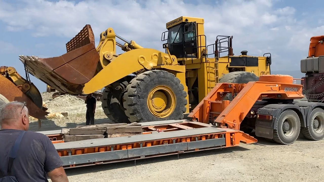 Loading A Caterpillar 988B With Cat 992C And Transporting - Sotiriadis/Labrianidis Mining