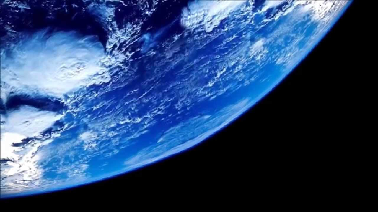 3D Beautiful Planet Rotation Free Video Background