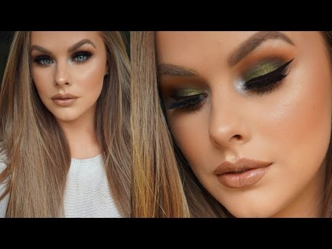 Olive Green Eyeshadow Tutorial