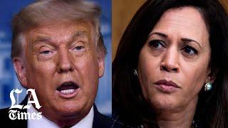 Trump not a fan of Kamala Harris as Biden's VP pick