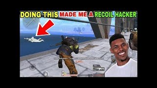 DOING THIS MADE MY GUN RECOIL DISAPPEAR • PUBG MOBILE GAMEPLAY