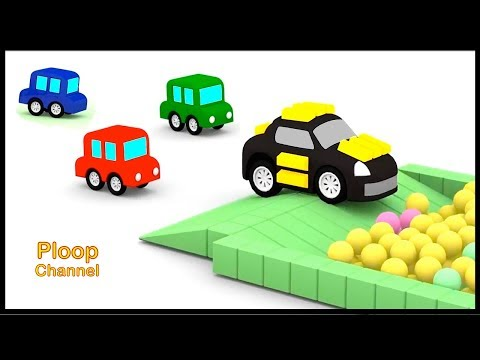 Thumbnail: Cartoon Cars - GOLD CRIMINAL CAR! - Cars Cartoons for Children - Childrens Animation Videos for kids