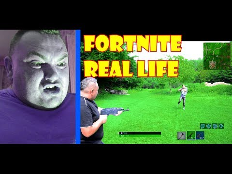 FORTNITE U STVARNOM ŽIVOTU - Fortnite Mobile