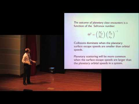 35. Melvyn Davies - The long-term dynamical evolution of planetary systems