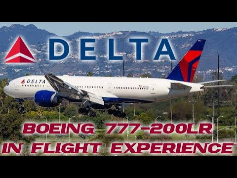 In Flight Experience: Delta 777 Sydney-Los Angeles