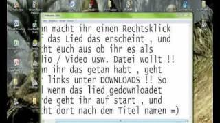 Filme von Youtube kostenlos Downloaden ( Tutorial German / Deutsch ) + Download Link