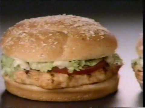 1990 Burger King Commercial 99 Cent BK Broiler