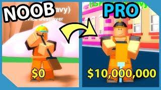 Noob To Pro! Master Rank! $6,000,000 Jackhammer! - Roblox Destruction Simulator