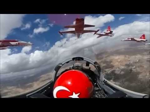 360° cockpit view – Fighter Jet – Turkish Stars | Virtual Reality