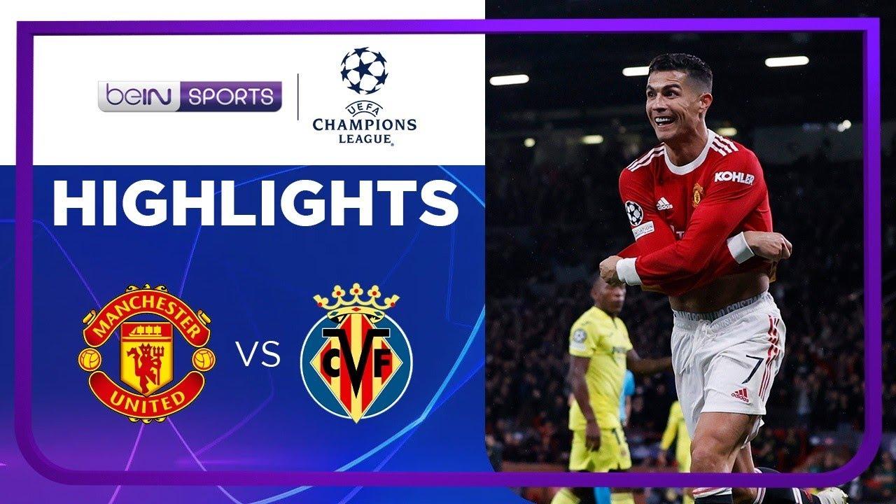 แมนเชสเตอร์ ยูไนเต็ด 2-1 บียาร์เรอัล | ยูฟ่า แชมเปี้ยนส์ ลีก ไฮไลต์ Champions League 21/22