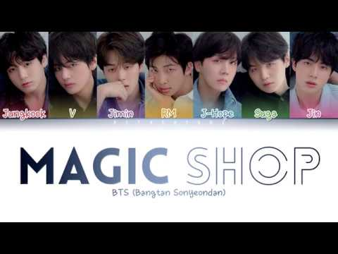 BTS () - Magic Shop (Color Coded Lyrics/Han/Rom/Eng)