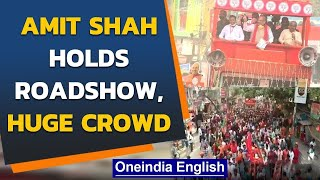 Amit Shah holds roadshow in West Bengal: Covid-19 norms flouted, no social distancing |Oneindia News