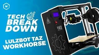 LulzBot TAZ Workhorse // Tech Breakdown thumbnail