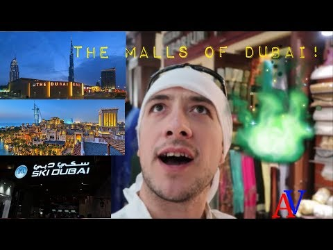 Vlog: Dubai travel guide: the malls of Dubai! Mall-urile din Dubai!