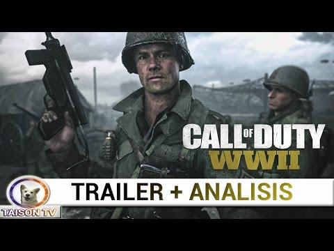 CALL OF DUTY WW2 TRAILER + ANALISIS CON TODOS LOS DETALLES