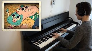 The Amazing World Of Gumball - Nicole meets Richard (The Choices) - Piano