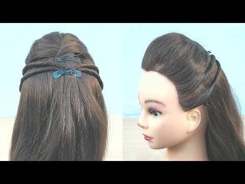 Beautiful Puff Hairstyle With Twist Easy Hairstyles Simple