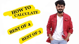How to calculate best of 4 and 3 percentage for Cut offs of Delhi University | Tal Entertainer