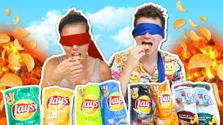 LAYS CHIPS EATING Challenge BF vs GF