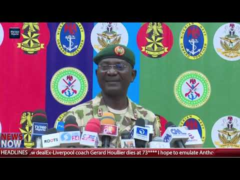Nigerian military gives update on abduction of students in Kankara