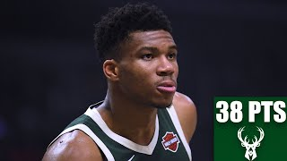 Giannis Antetokounmpo flirts with triple-double in Bucks vs. Clippers game | 2019-20 NBA Highlights