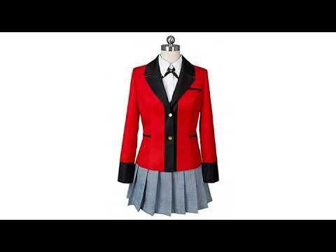 Wish Costume Shop Compulsive Gambler Anime Yumeko Jabami Cosplay Costume Full Set