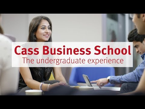 Cass Business School: The Undergraduate Experience