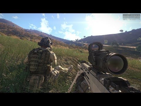 Most Realistic Shooter Game Ever ! Arma 3 Apex
