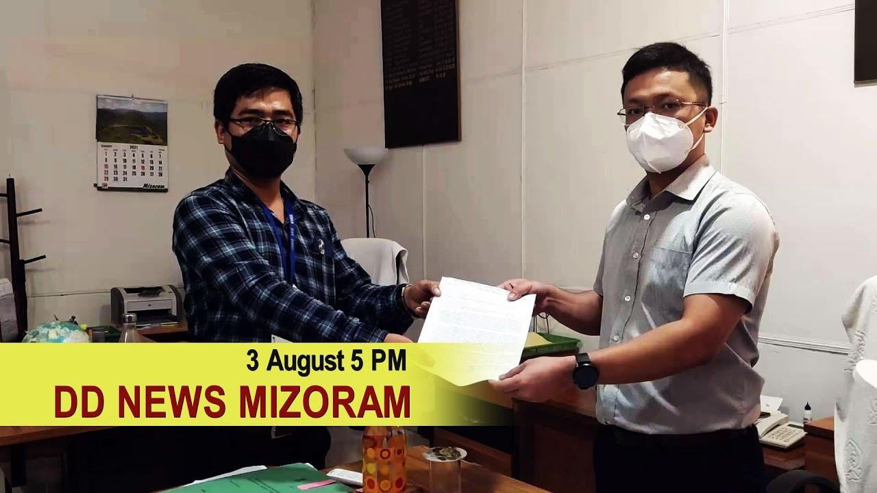 Download DD News Mizoram, 3 August 2021 @ 5 PM