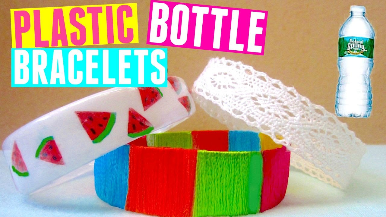 Diy Bracelets Recycling Plastic Bottles Watermelon Tribal Lace You