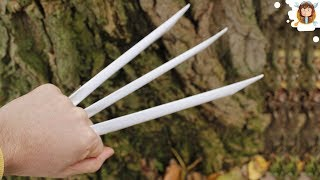 How To Make Paper Wolverine Claws - Paper Claws